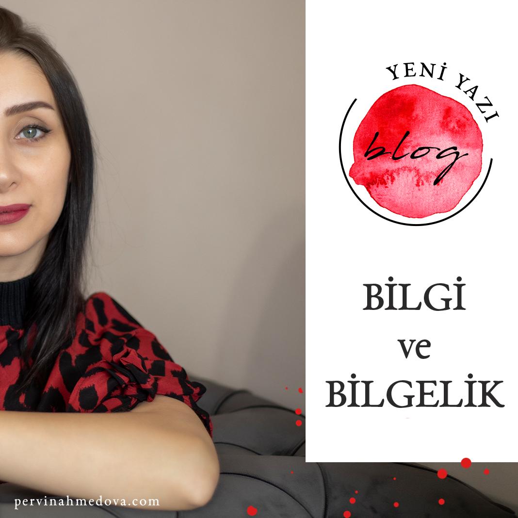 Bilgi ve Bilgelik, Pervin Ahmedova Blog Yazsısı